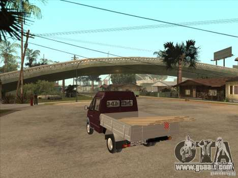 33023 GAS for GTA San Andreas back left view