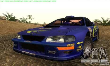 Subaru Impreza 22B for GTA San Andreas