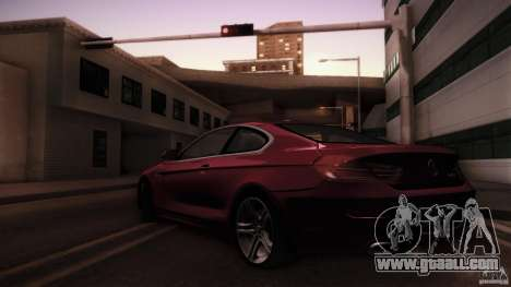 BMW 640i Coupe for GTA San Andreas left view