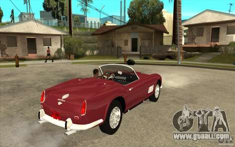 Ferrari 250 California 1957 for GTA San Andreas right view