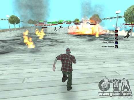 SA:MP 0.3d for GTA San Andreas fifth screenshot