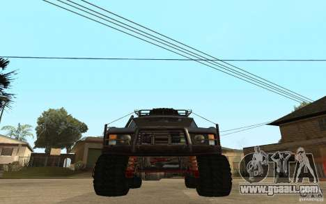 Range Rover Off Road for GTA San Andreas back left view