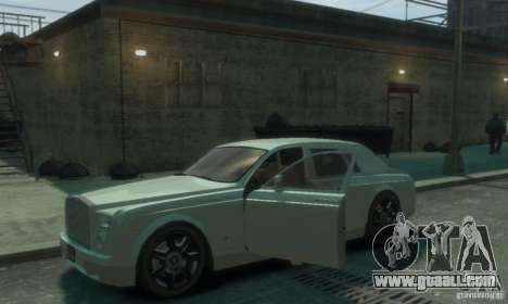 Rolls-Royce Phantom for GTA 4 upper view
