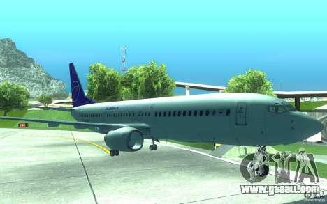 Sukhoi SuperJet-100 for GTA San Andreas left view