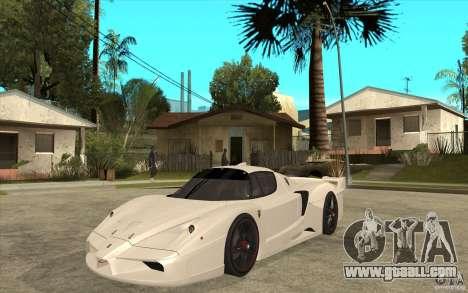 Ferrari FXX 2005 for GTA San Andreas left view