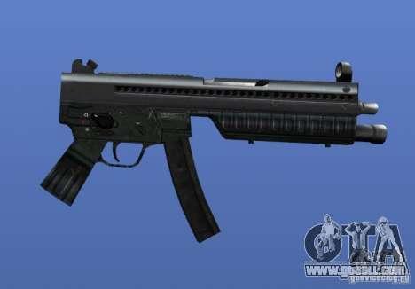 Heckler & Koch MP5 for GTA 4 forth screenshot