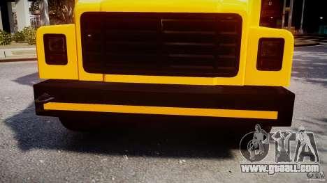 School Bus [Beta] for GTA 4 upper view