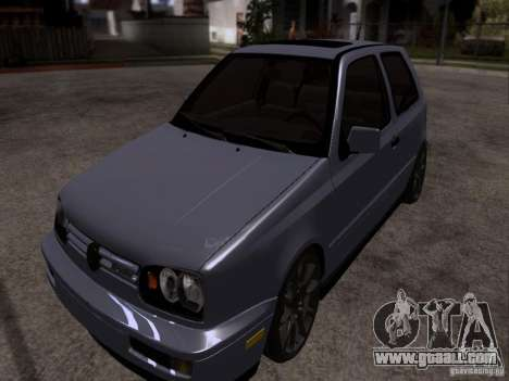 Volkswagen Golf 3 VR6 for GTA San Andreas right view