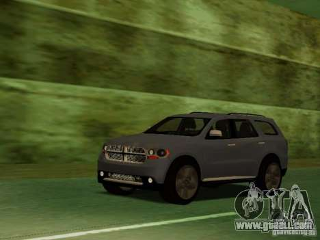 Dodge Durango 2012 for GTA San Andreas side view