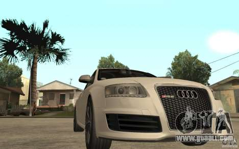 Audi RS6 2009 for GTA San Andreas