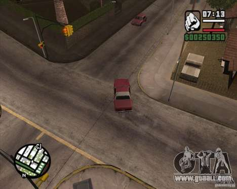 Camera as in GTA Chinatown Wars for GTA San Andreas seventh screenshot
