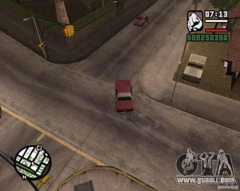 Camera as in GTA Chinatown Wars for GTA San Andreas seventh screenshot