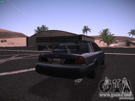 Ford Crown Victoria 2003 for GTA San Andreas upper view