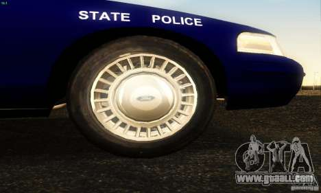 Ford Crown Victoria Masachussttss Police for GTA San Andreas right view