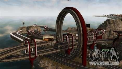 Stunt Speedway Park for GTA 4 forth screenshot