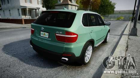 BMW X5 Experience Version 2009 Wheels 223M for GTA 4 upper view
