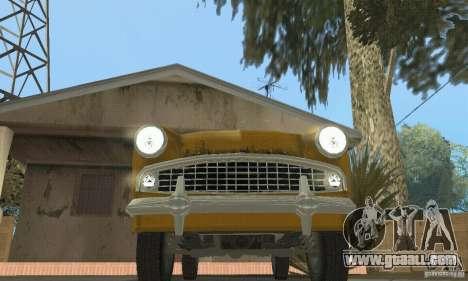 Moskvich 407 1958 for GTA San Andreas