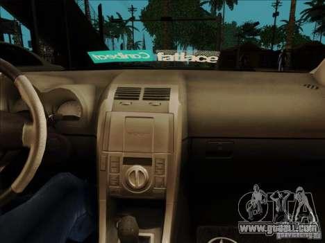 Scion tC 2012 for GTA San Andreas back view
