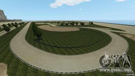 Dakota Raceway [HD] Retexture for GTA 4 eighth screenshot