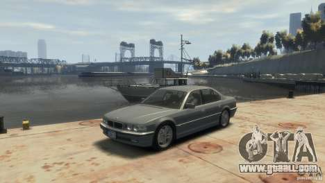 BMW 740i E38 for GTA 4