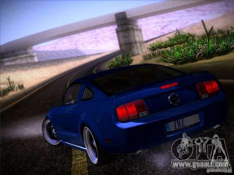 Ford Mustang GT 2005 for GTA San Andreas side view