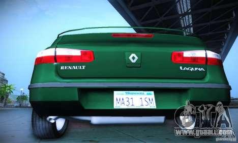 Renault Laguna 2 for GTA San Andreas inner view