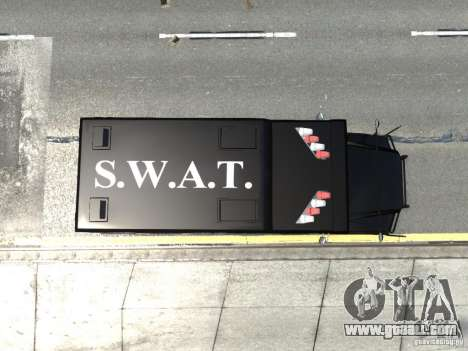 SWAT - NYPD Enforcer V1.1 for GTA 4 back view