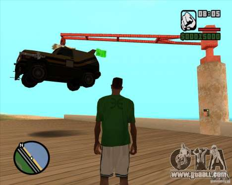 Death Car-death machine for GTA San Andreas second screenshot