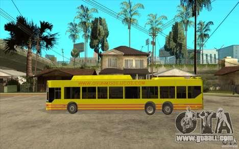 Mercedes Benz Citaro L for GTA San Andreas left view