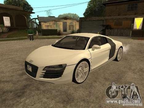 Audi R8 for GTA San Andreas