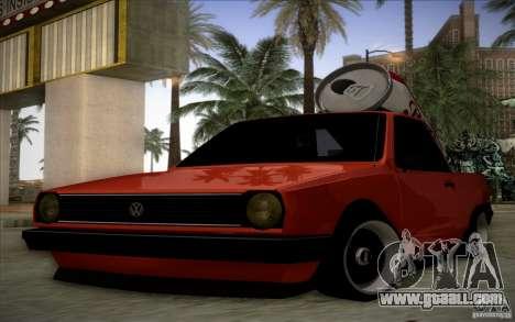 Volkswagen Polo Pickup for GTA San Andreas