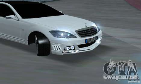 Mercedes-Benz S65 AMG Edition for GTA San Andreas right view