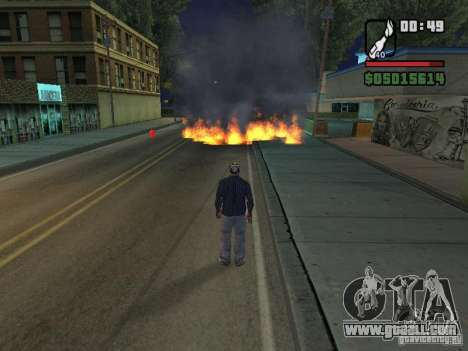 New Realistic Effects for GTA San Andreas fifth screenshot
