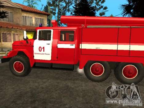 ZIL 131 fire for GTA San Andreas right view