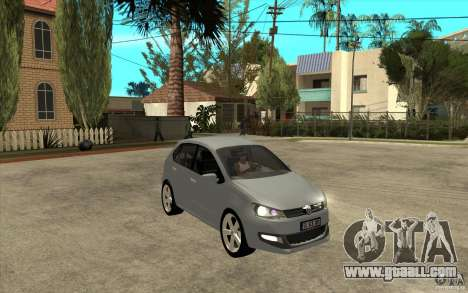 Volkswagen Polo 2011 for GTA San Andreas back view
