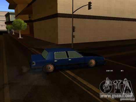 Willard Drift Style for GTA San Andreas right view