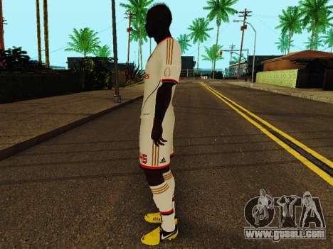 Mario Balotelli v2 for GTA San Andreas third screenshot