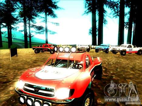 Toyota Tundra Rally for GTA San Andreas left view