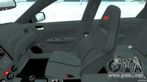 Subaru Impreza WRX STi 2011 Subaru World Rally for GTA 4 back view