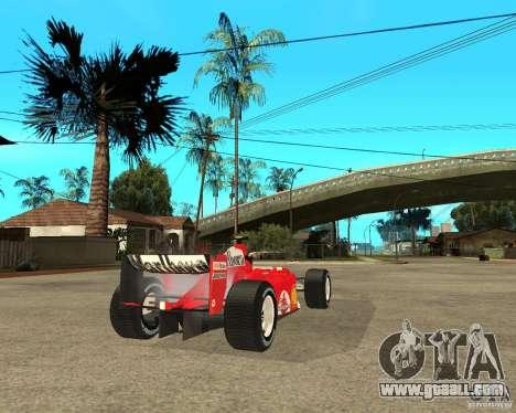 Ferrari F1 for GTA San Andreas back left view