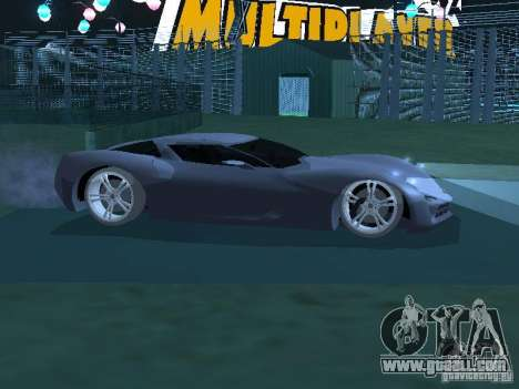 Chevrolet Corvette Stingray for GTA San Andreas left view