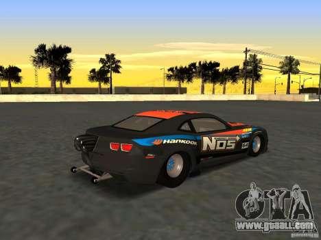 Chevrolet Camaro NOS for GTA San Andreas left view