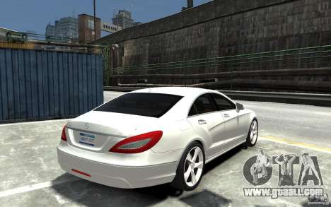 Mercedes-Benz CLS 350 for GTA 4 right view