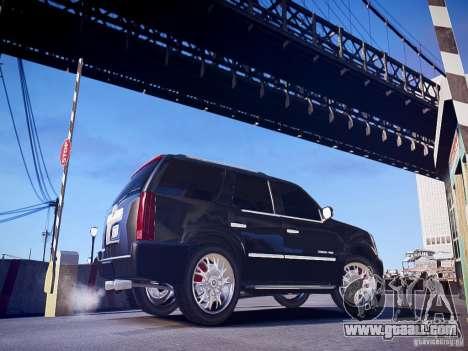 Cadillac Escalade for GTA 4 left view