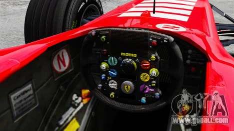 Ferrari F2005 for GTA 4 inner view