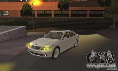 Yellow headlights for GTA San Andreas second screenshot
