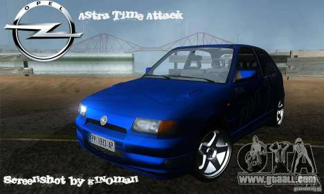 Opel Astra Time Attack for GTA San Andreas