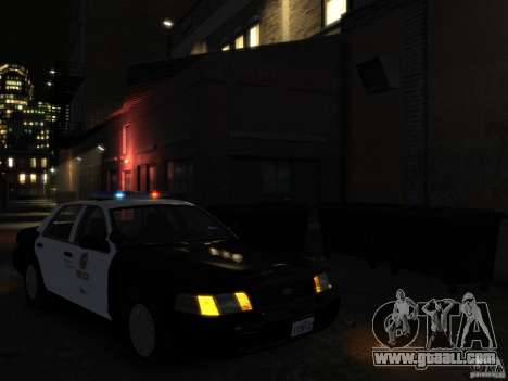 Ford Crown Victoria LAPD [ELS] for GTA 4 right view