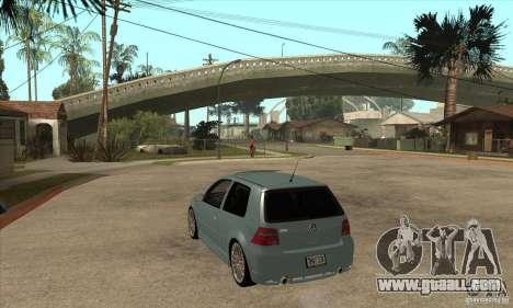 Volkswagen Golf R32 for GTA San Andreas