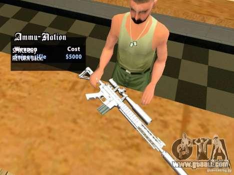 TeK Weapon Pack for GTA San Andreas twelth screenshot